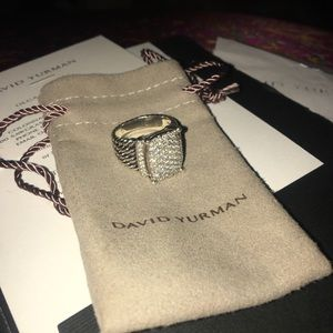 David Yurman Jewelry - David Yurman Diamond Wheaton ring
